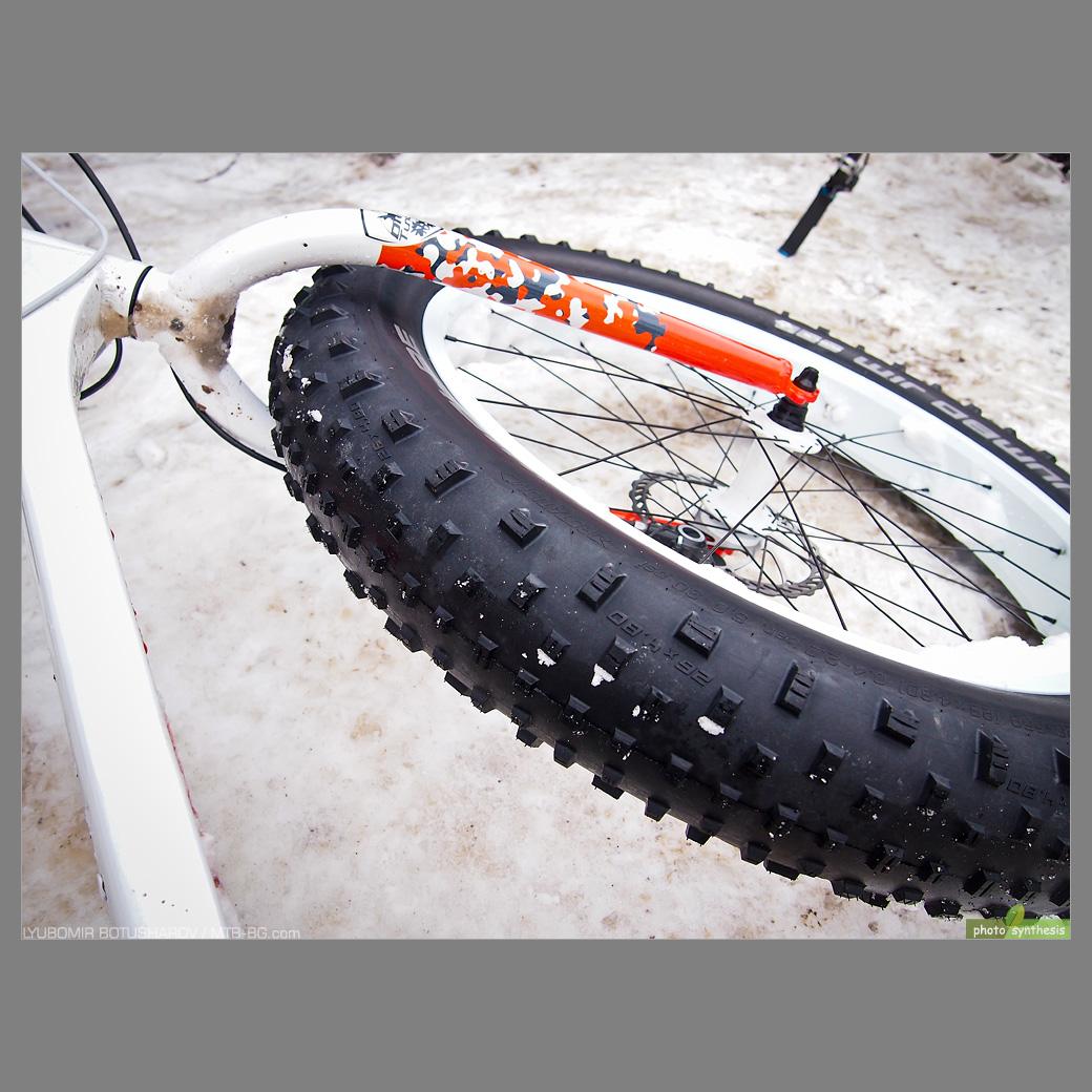 Вие разглеждате снимки от статията: Drag Tundra – впечатления след 90 км + проба на гуми Schwalbe Jumbo Jim